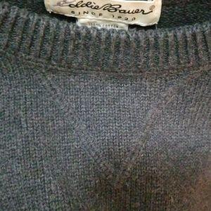 Eddie Bauer Sweaters - Eddie Bauer 100% Cotton Japan Sweater Womens